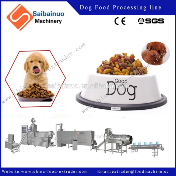 Twin screw dog food extrusion machine - NEWS - Extrusion food