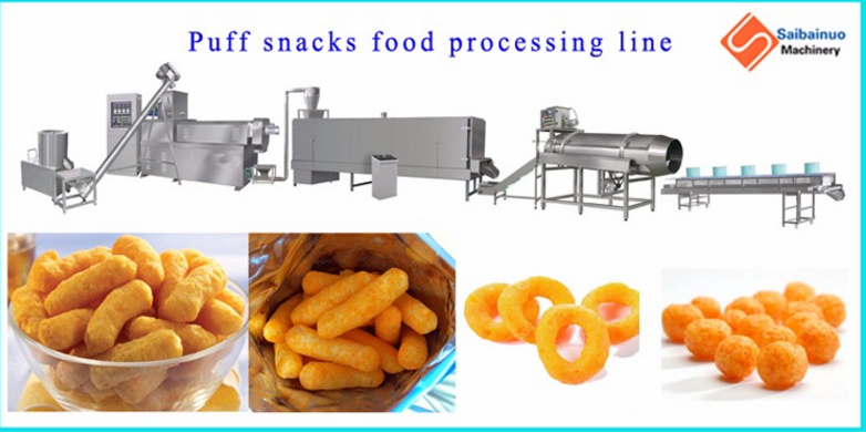 Breakfast cereal corn extruder machine with best quality - Product