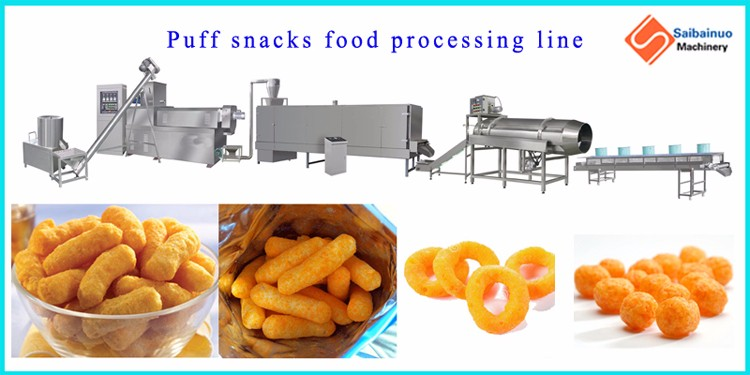 Breakfast cereal corn extruder machine with best quality